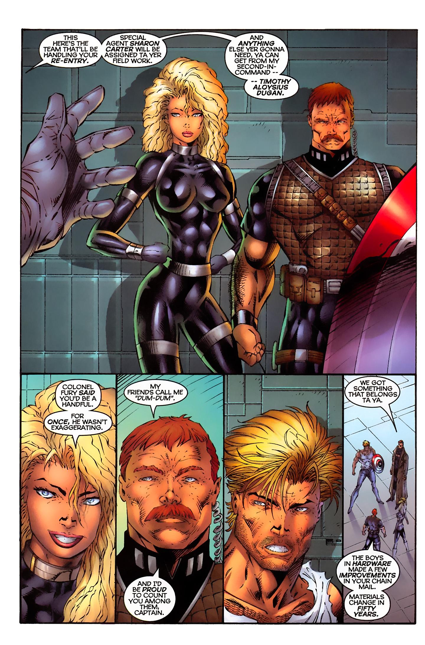 Captain America (1996) Issue #3 #3 - English 11