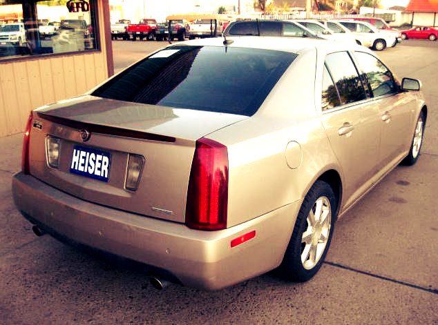 How To Remove The Tail Lights On 2005 Cadillac Sts