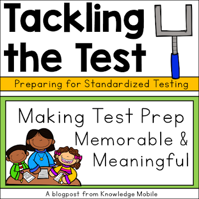Help students prep for state testing with these meaningful test prep review ideas