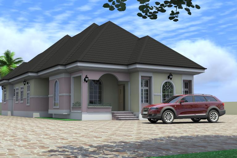 Image Result for 3 Bedroom Bungalow Floor Plan In Nigeria