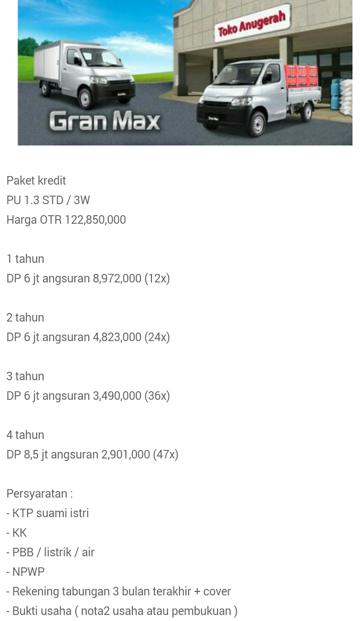 daihatsu sidoarjo, dealer daihatsu sidoarjo, showroom daihatsu sidoarjo, harga daihatsu sidoarjo, serba--serbi, tips--trik, promo, berita, Daihatsu Grand Max PU, DAIHATSU AYLA, Daihatsu Grand Max MB, Daihatsu Luxio, DAIHATSU SIRION, DAIHATSU COPEN, Daihatsu Terios Custom, Profil Showroom Daihatsu Surabaya, PAKET KREDIT XENIA, Testimonial, Price List, Great New Xenia, Paket kredit gran max pick up, Paket kredit terios, Paket kredit sirion, Paket kredit luxio, SIRION SPORT, KREDIT GREAT NEW XENIA, KREDIT MANTAP, KREDIT TERIOS AIRBAG, Daihatsu SIGRA