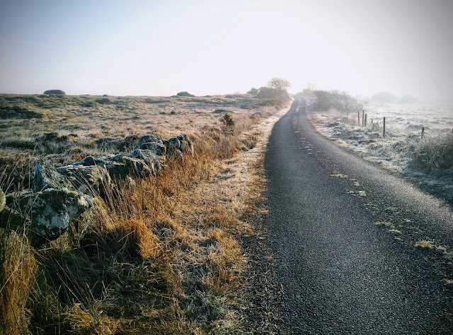 road through the bogs, Connemara, Ireland