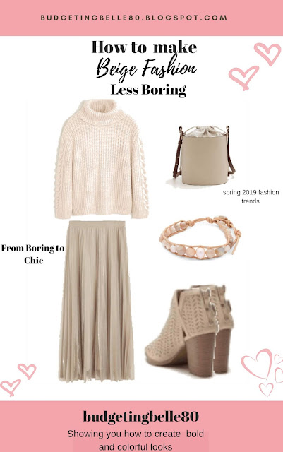 How to make beige fashion less boring