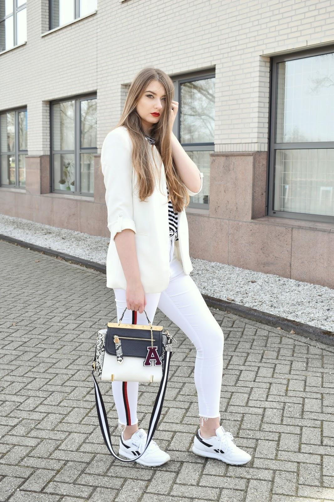 biała marynarka damska stylizacje