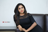 Telugu Actress Karunya Chowdary Latest Stills in Black Short Dress at Edo Prema Lokam Audio Launch .COM 0114.JPG