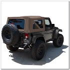 TINTED Jeep Soft Top WINDOWS