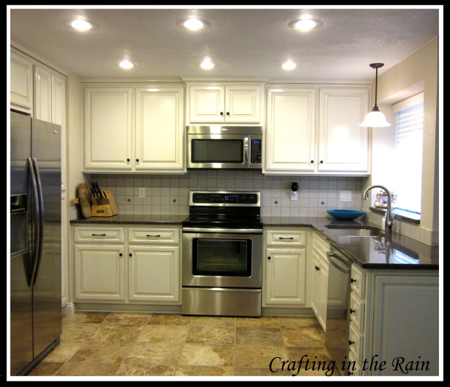White Kitchen Cabinets With Stainless Appliances: Kitchen Reveal...Finally!