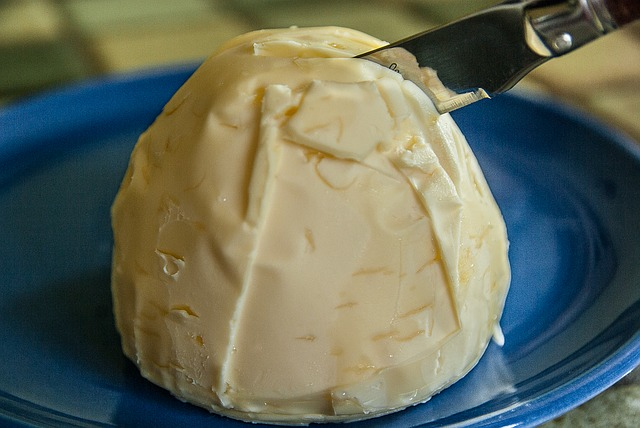 Decorative Mound of Whipped Butter