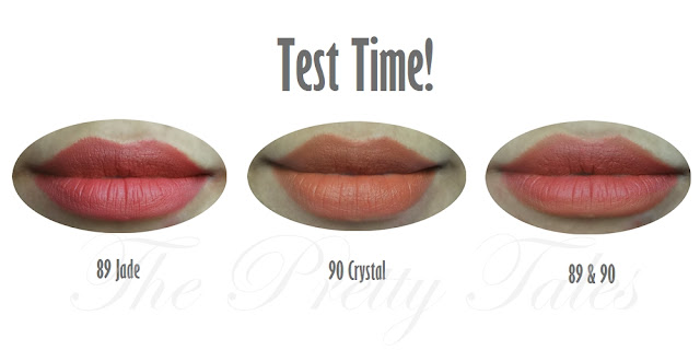 purbasari lipstick color matte 89 jade 90 crystal review test