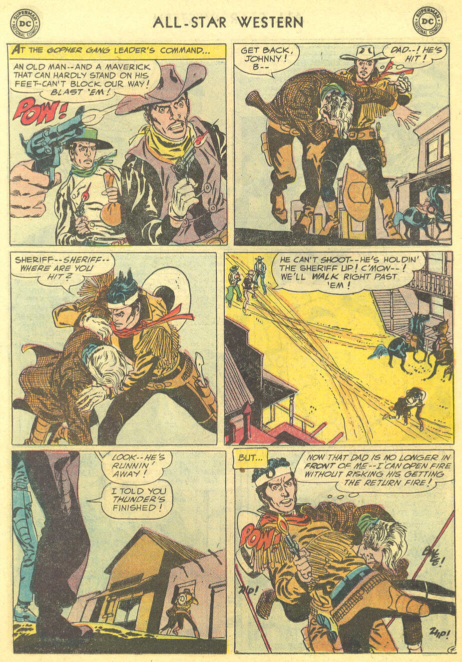 Read online All-Star Western (1951) comic -  Issue #95 - 14