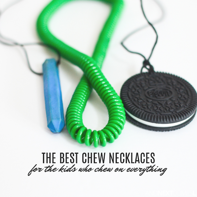 Chew necklaces reviews and options for the kids who chew on everything
