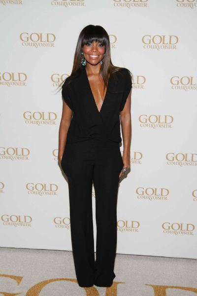 69e32f14e333 Gabrielle Union in a Jumpsuit designed by Lala Anthony! Lala did a Fab job!  Love the shape