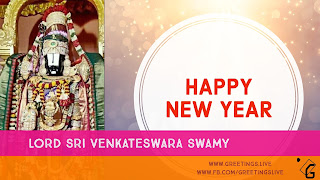 LORD SRI VENKATESWARA SWAMY NEW YEAR WISHES 2018