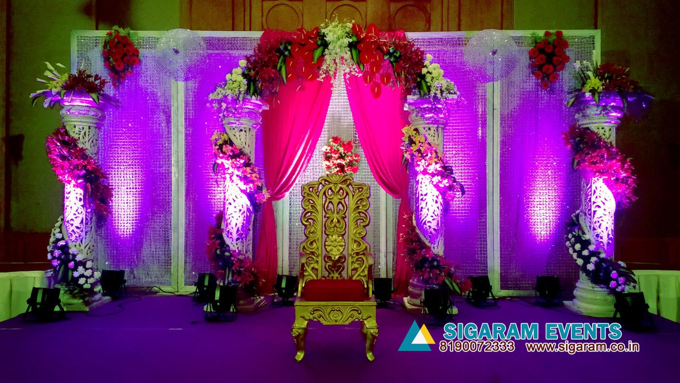 Reception Stage Decoration Ideas Pondicherry Chennai Cuddalore