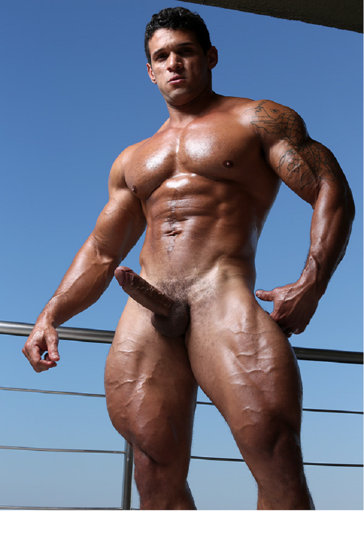 Giant muscle cock