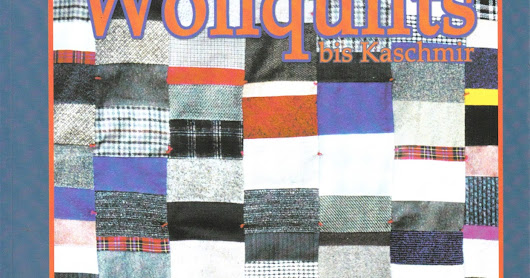 A Recommended Book For Quilters: Wollquilts by Edda Gehrmann