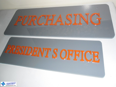 Laser-Cut Built-Up Acrylic Signage