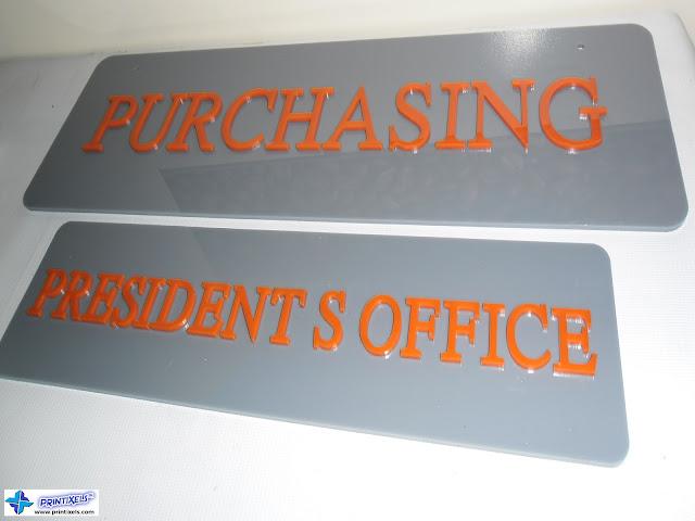 Laser-Cut Acrylic Letters
