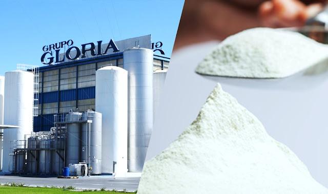 Gloria reemplazará leche fresca por leche en polvo importada
