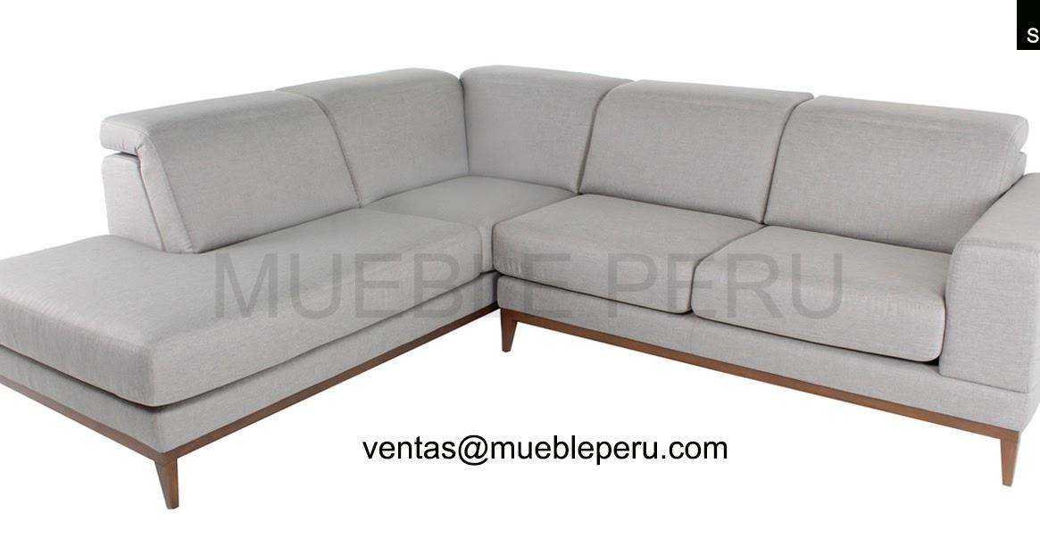 Muebles pegaso elegante sofa seccional - Sofas elegantes diseno ...