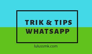 20 Daftar Tips WhatsApp Terbaru 2019