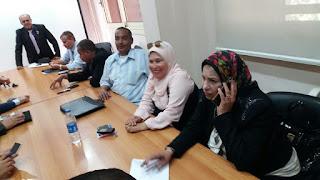 اجتماع د/ محمد عمر نائب الوزير لشؤن المعلمين مع كوكبة من المعلمين