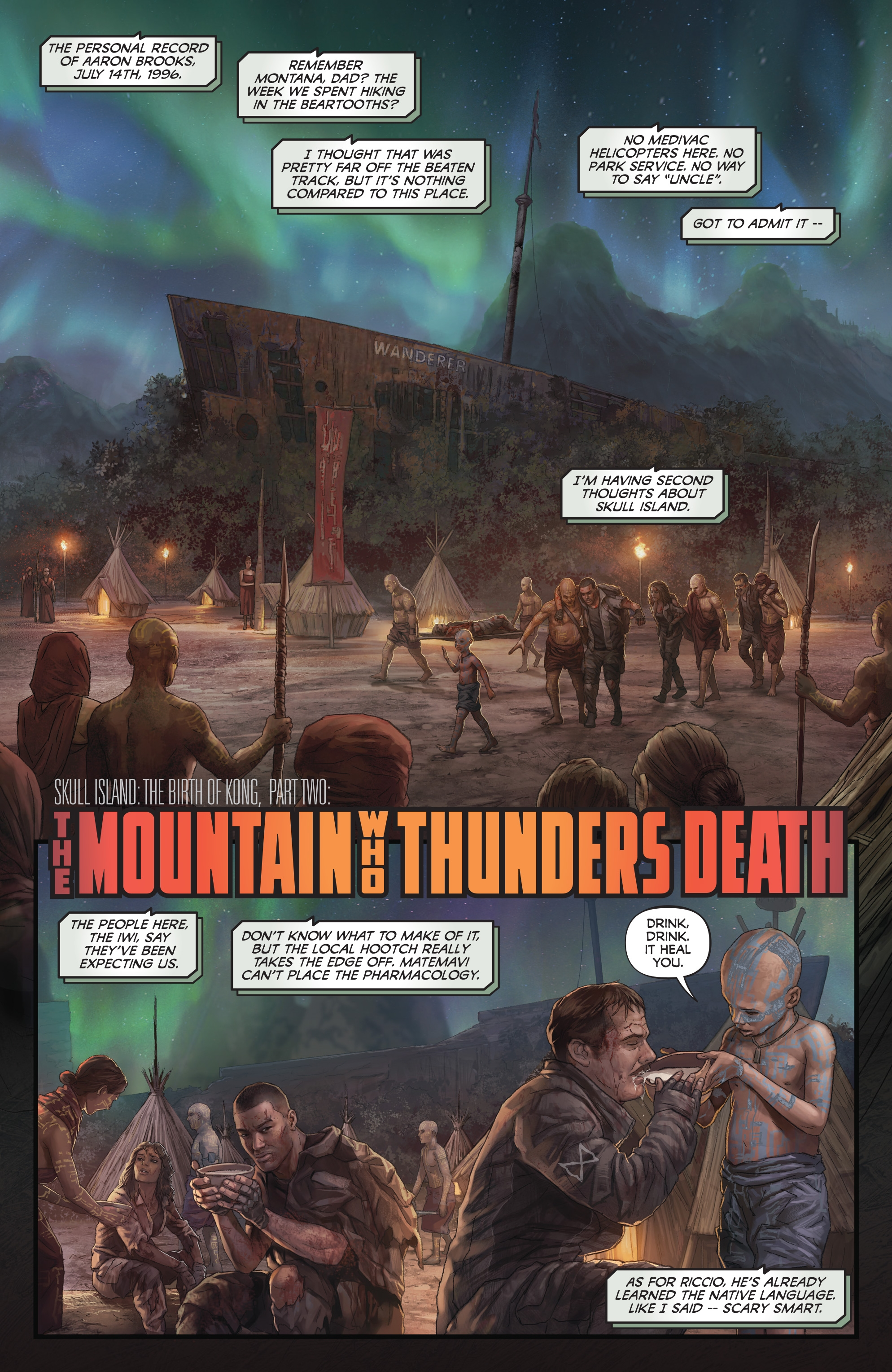 Read online Skull Island: The Birth of Kong comic -  Issue #2 - 3