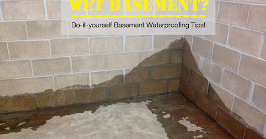 Waterproof Your Basement