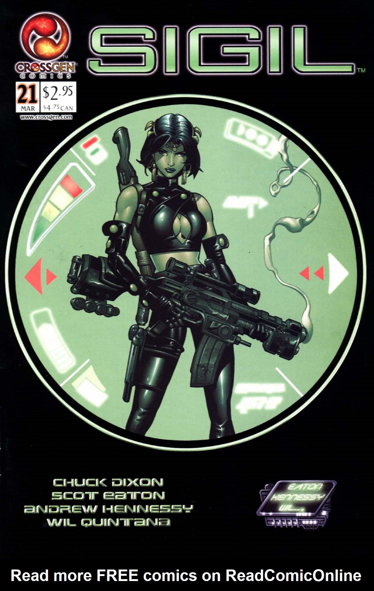 Read online Sigil (2000) comic -  Issue #21 - 1