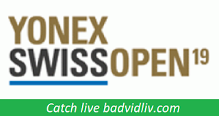 Swiss Open 2019 live streaming