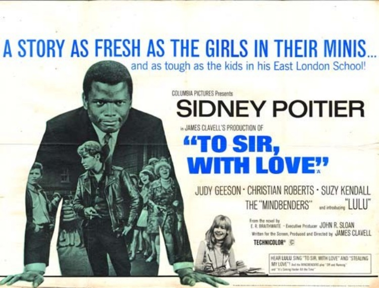 A Vintage Nerd, Movie Madness Monday, Classic Film Recommendations,  To Sir, With Love