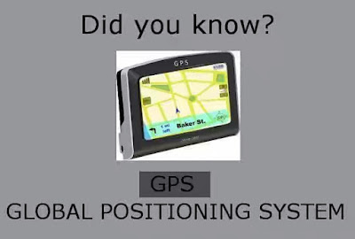 Technological abbreviation acronyms meaning gps