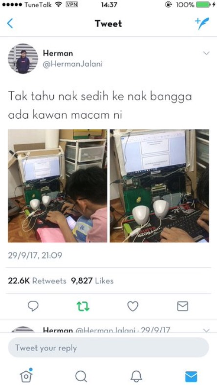 Laptop Kotak Acer