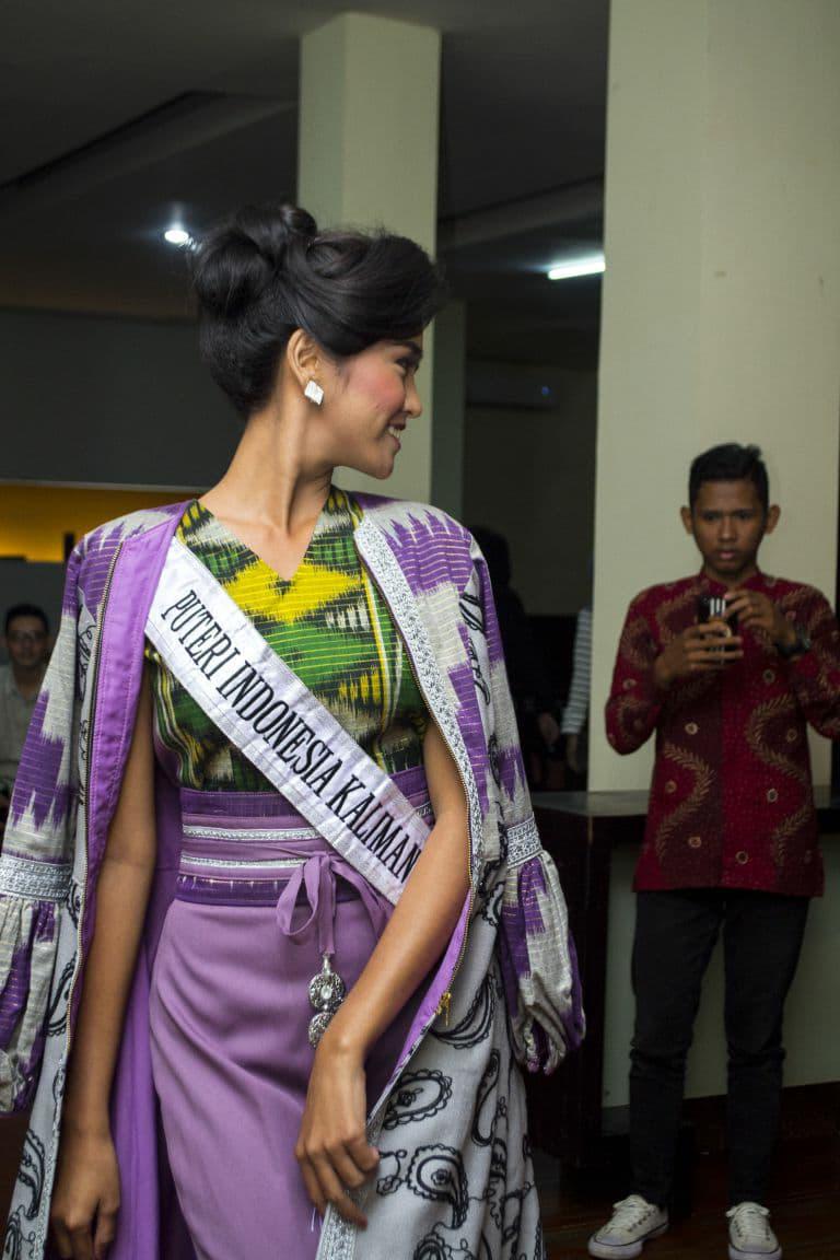 Wilda Oktaviana Situngkir Goes To Puteri Indonesia 2018