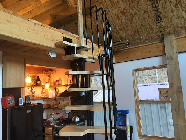 Adam and Karens Tiny House in Equinunk PA Tiny House