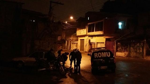 ROMO de Santo André com apoio da ROMU apreende menor por tráfico de drogas no Centreville