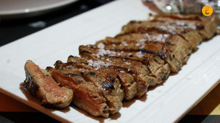 Vacío de vaca vieja (14,90€) Gobu General Pardiñas Madrid hamburguesería gourmet
