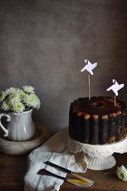 carrot-chocolate-bundt-cake, bundt-cake-de-zanahoria-y-chocolate