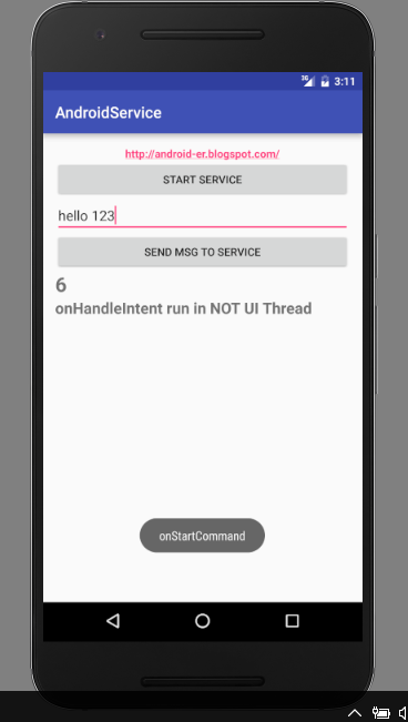 Android-er: Example of IntentService and BroadcastReceiver