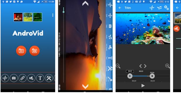 تحميل برنامج اضافة المؤثرات على الفيديو للاندرويد Video Editor