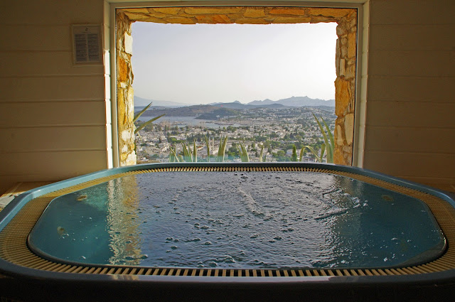 The Marmara Bodrum Jacuzzi and View