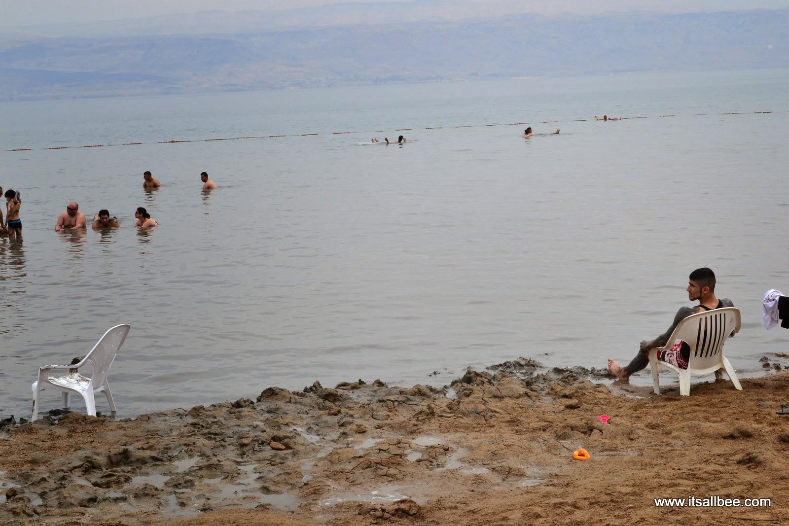 Floating in Israel's Dead Sea
