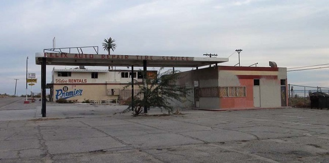 Abandoned buildings of the Salton Sea