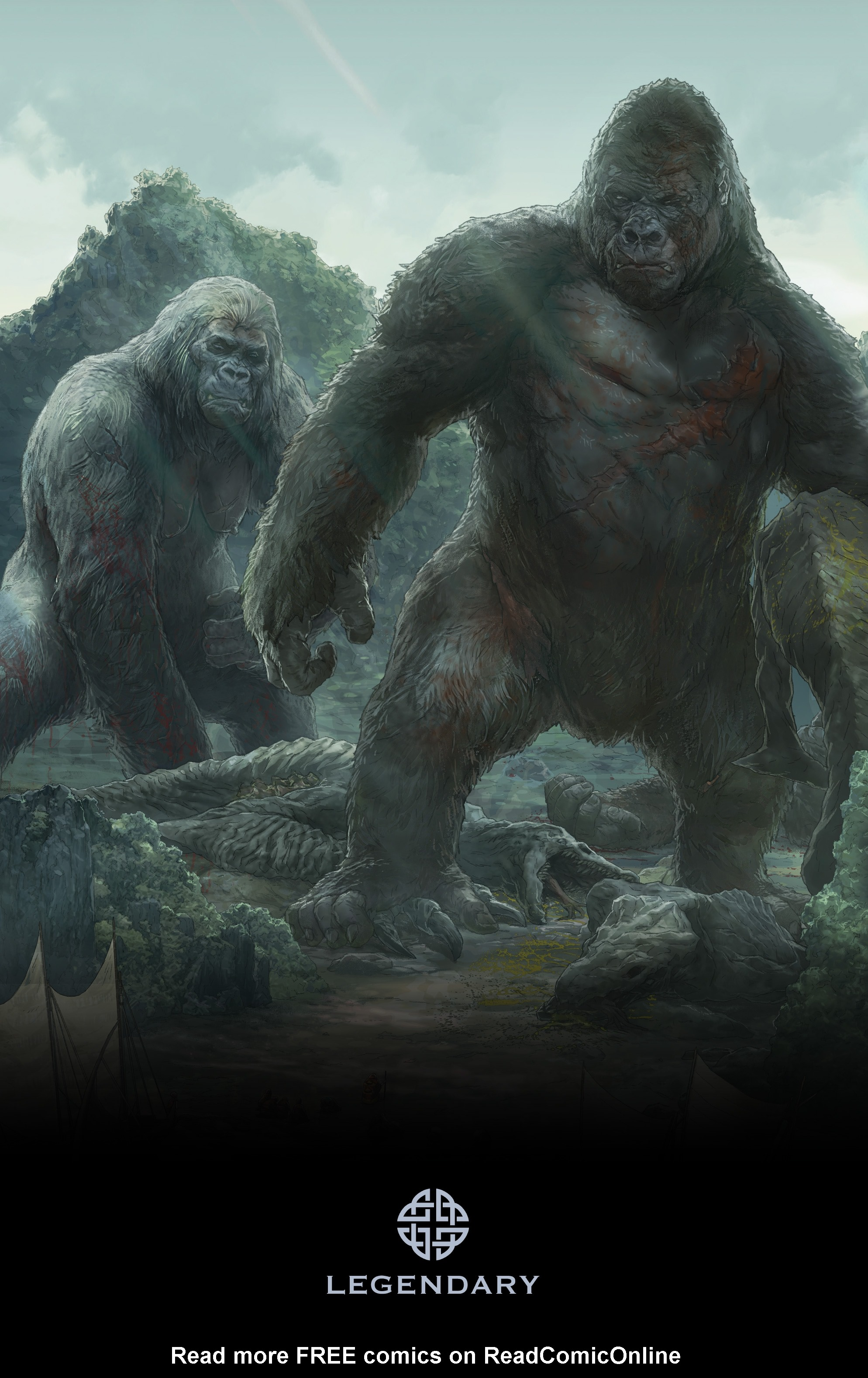 Read online Skull Island: The Birth of Kong comic -  Issue #2 - 26