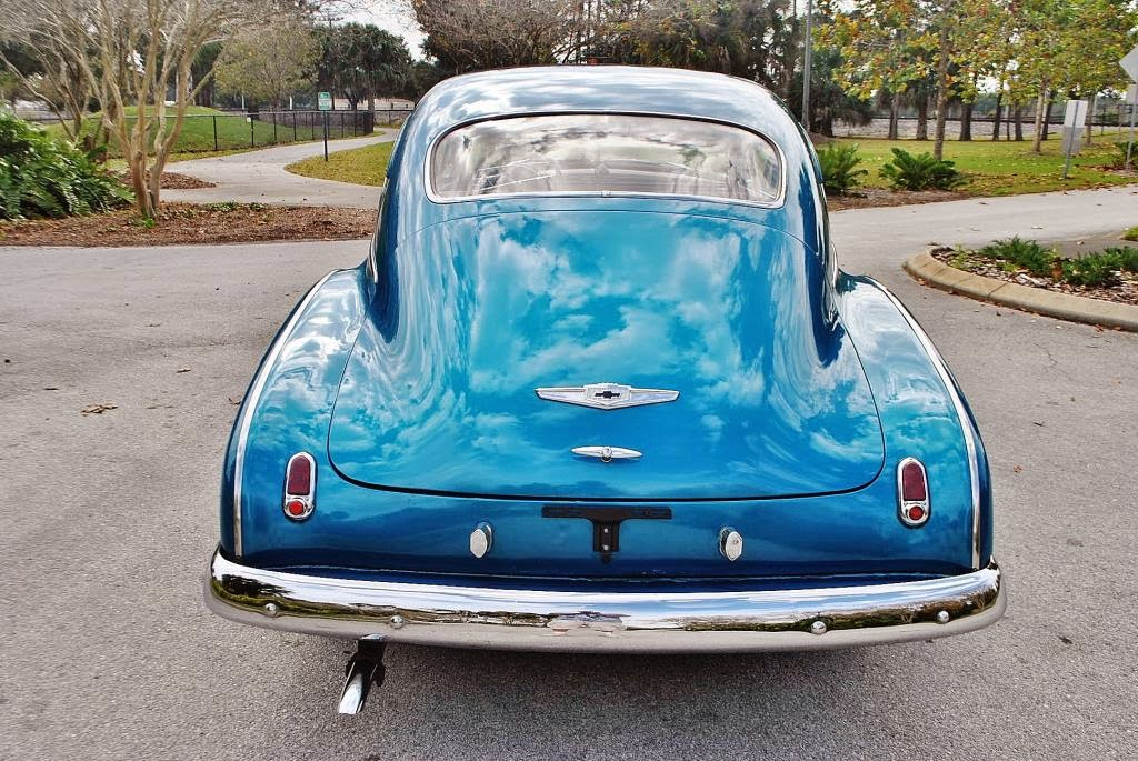 All American Classic Cars: 1949 Chevrolet DeLuxe Fleetline ...
