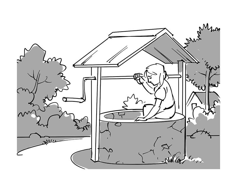 children's fairytale folktale book illustration