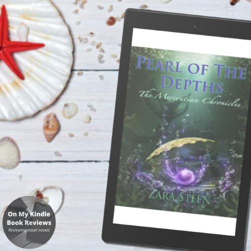 Charity Rowell at On My Kindle BR reviews  PEARL OF THE DEPTHS by Zara Steen