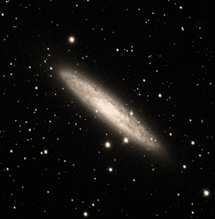 Image of NGC 253  - Image by Muir Evenden & Michael Petrasko