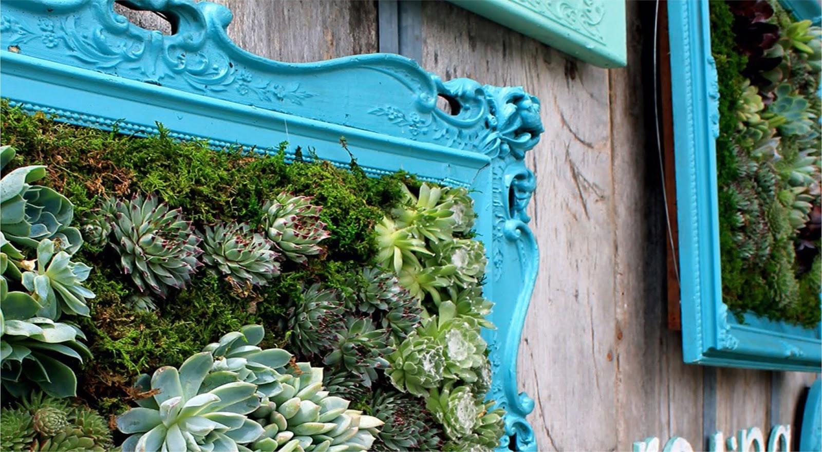 Ombre Frame Vertical Garden