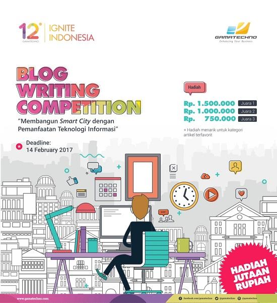 Kontes Menulis Blog Gamatechno